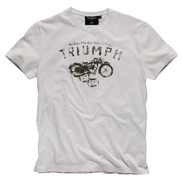 Bild von Triumph - Herren World's Fastest Motorcycle T-Shirt