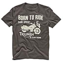 Bild von Triumph - Herren Lowar Born To Ride T-Shirt