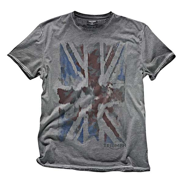 Bild von Triumph - Herren Grey Union Jacket T-Shirt